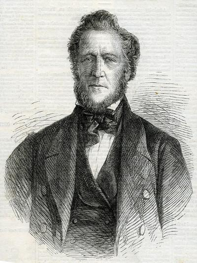 Portrait of Brigham Young, 1861--Giclee Print