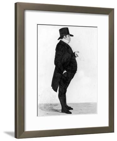 Portrait of British Banker Nathan Meyer Rothschild
