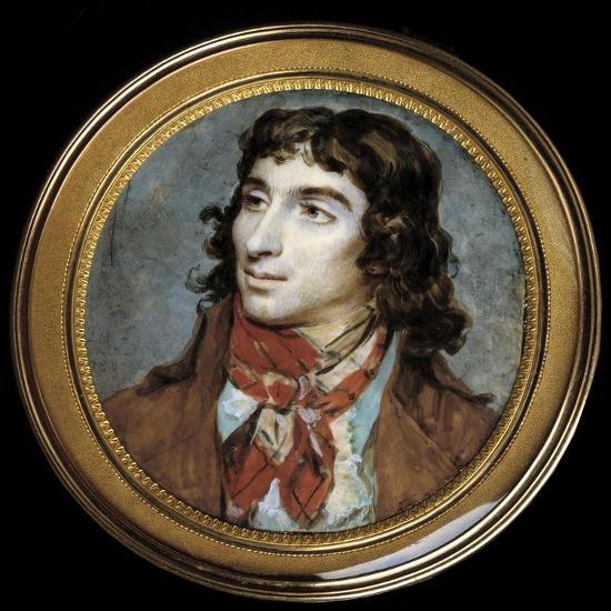 Portrait of Camille Desmoulins by Francois Dumont--Giclee Print