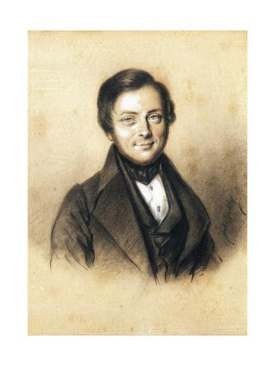 Portrait of Camillo Benso, Count of Cavour--Giclee Print