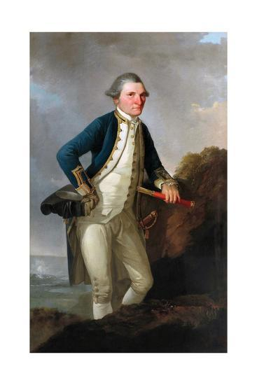 Portrait of Captain James Cook by John Webber--Giclee Print