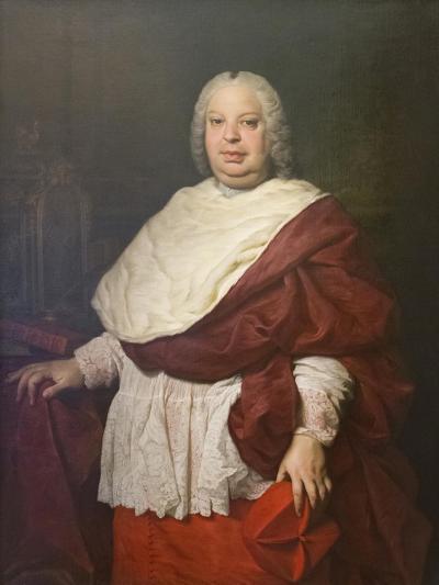 Portrait of Cardinal Silvio Valenti Gonzaga, C.1745-Pierre Subleyras-Giclee Print