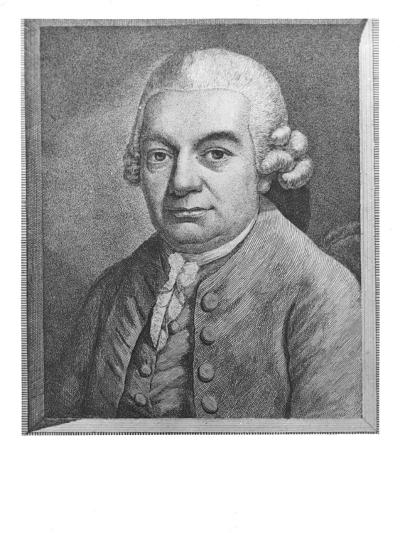 Portrait of Carl Philipp Emanuel Bach--Giclee Print