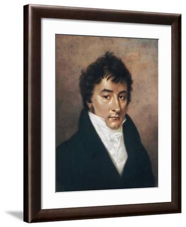 Portrait of Carlo Porta--Framed Giclee Print