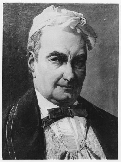 Portrait of Charles Augustin Sainte-Beuve-Barthelemy Eugene Demarquay-Giclee Print