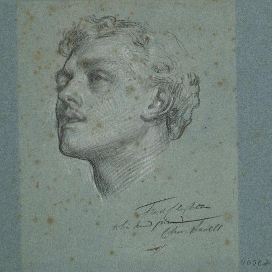 Portrait of Charles Augustus Howell, C.1866-Frederic Leighton-Giclee Print