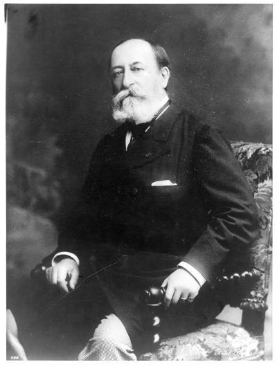 Portrait of Charles Camille Saint-Saens--Photographic Print