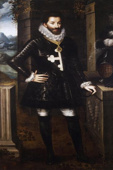 Portrait of Charles Emmanuel I, Duke of Savoy, known as Great--Giclee Print