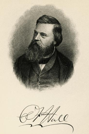 Portrait of Charles Francis Hall--Giclee Print