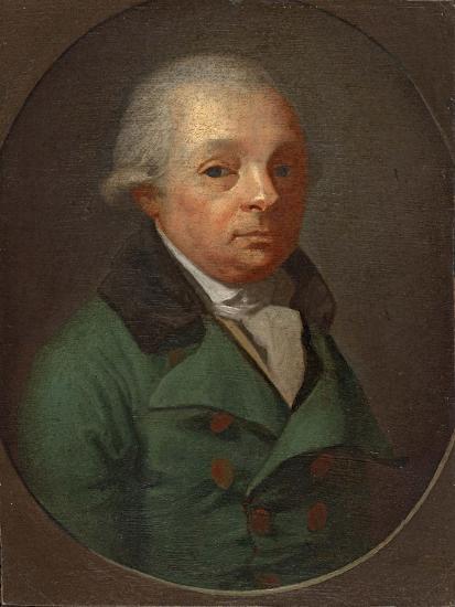 Portrait of Charles Frederick, Grand Duke of Baden (1728-181)--Giclee Print