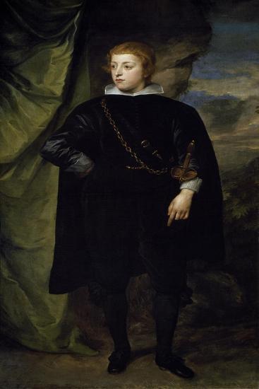 Portrait of Charles I Louis--Giclee Print
