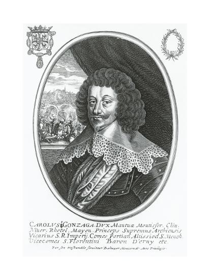 Portrait of Charles I of Gonzaga-Nevers--Giclee Print