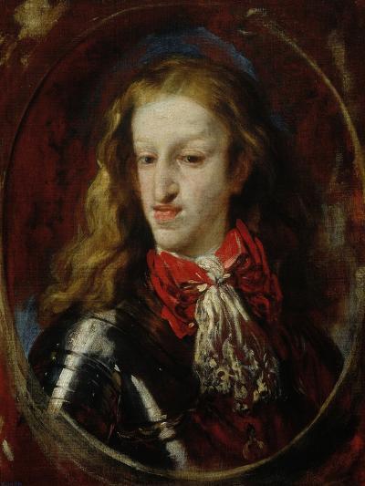 Portrait of Charles II-Claudio Coello-Giclee Print