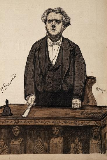 Portrait of Charles Thomas Floquet--Giclee Print