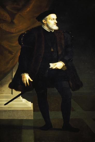 Portrait of Charles V--Giclee Print