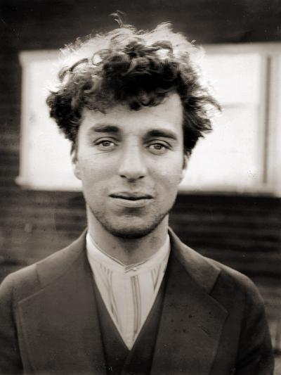 Portrait of Charlie Chaplin Aged 27, 1916--Photographic Print