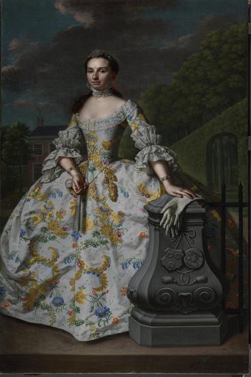 Portrait of Charlotte Beatrix Strick Van Linschoten-Mattheus Verheyden-Art Print