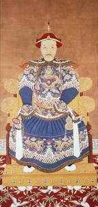 Portrait of Chinese Emperor K'Ang Hsi