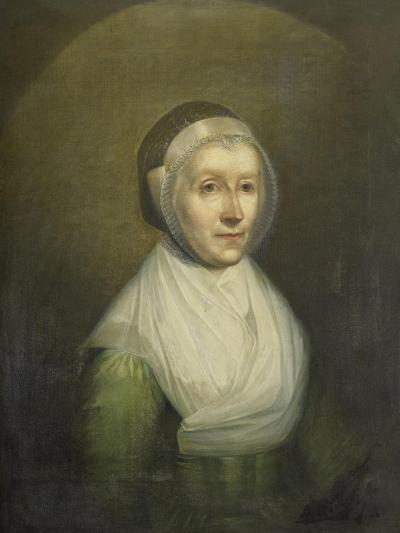 Portrait of Christina Sebilla Charlotte Bakhuizen-Benjamin Wolff-Art Print