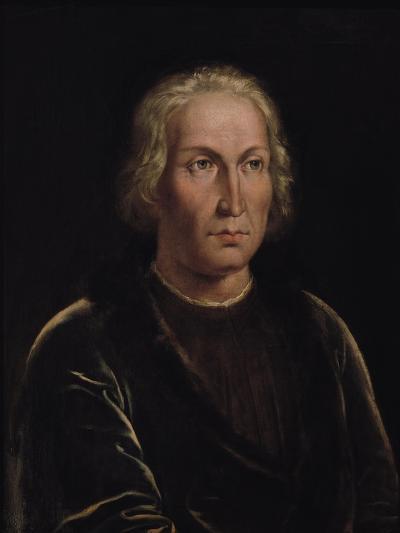 Portrait of Christopher Columbus--Giclee Print