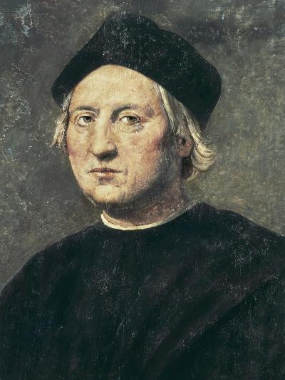 Portrait of Christopher Columbus-Ridolfo Ghirlandaio-Art Print