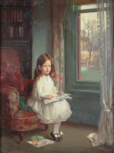 Portrait of Clara Hughes, 1902-Sir William Orpen-Giclee Print