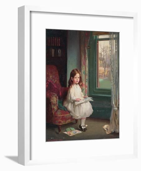Portrait of Clara Hughes, 1902-Sir William Orpen-Framed Giclee Print