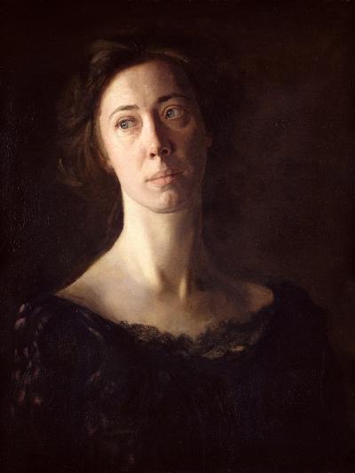 Portrait of Clara J. Mather-Thomas Cowperthwait Eakins-Giclee Print