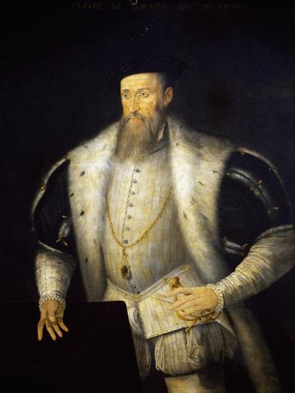 Portrait of Claudio I of Lorraine--Giclee Print
