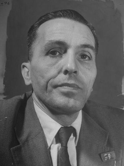 Portrait of Communist Leader Luis Carlos Prestes--Photographic Print