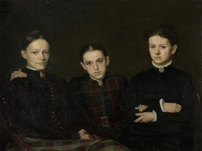 Portrait of Cornelia, Clara and Johanna Veth, 1885-Jan Pieter Veth-Giclee Print