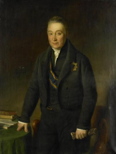 Portrait of Count Adam-Francois-Jules-Armand Van Der Duyn Van Maasdam-Jean-Baptiste Van der Hulst-Art Print