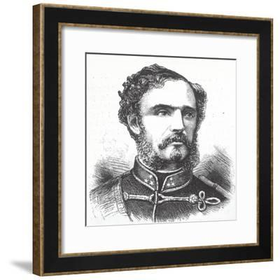 Portrait of Count Giulio Andrassy--Framed Giclee Print