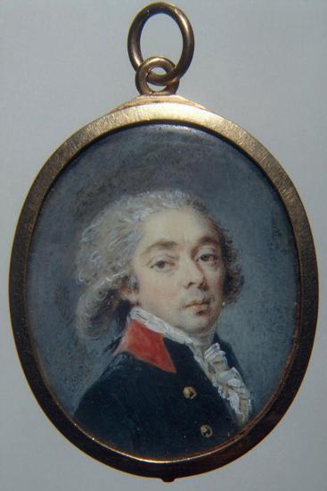 Portrait of Count Ivan Apraxin, C. 1796-Augustin Christian Ritt-Photographic Print