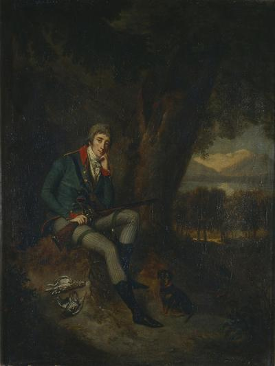 Portrait of Count Nikita Petrovich Panin (1770-183) in Hunting Dress-Ludwig Guttenbrunn-Giclee Print