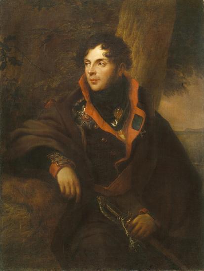 Portrait of Count Nikolay Mikhailovich Kamensky (1776-181), 1810-Friedrich Georg Weitsch-Giclee Print