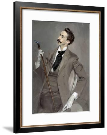 Portrait of Count Robert of Montesquiou by Giovanni Boldini--Framed Giclee Print