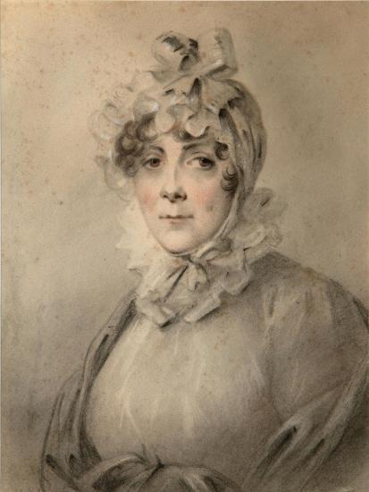 Portrait of Countess Anastasia Nikolaevna Shcherbatova (?-181), Née Dolgorukova-Alexander Molinari-Giclee Print