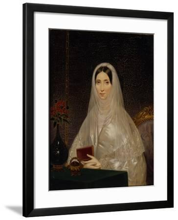 Portrait of Countess Tatyana Golitsyna (Potemkin), 1840s-Timofei Andreyevich Neff-Framed Giclee Print