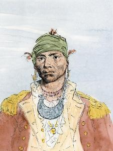 Portrait of Creek Leader Alexander Mcgillivray, Late 1700s