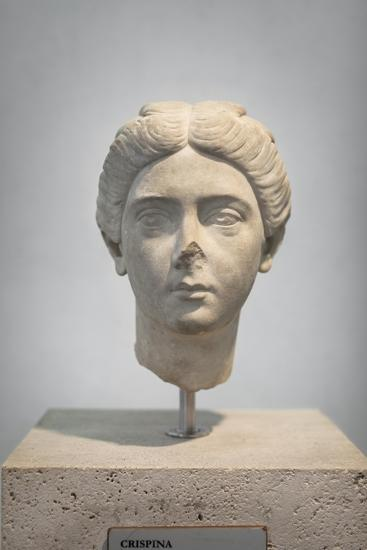 Portrait of Crispina, About 178 Ad, from Villa Adriana, National Museum of Rome--Giclee Print