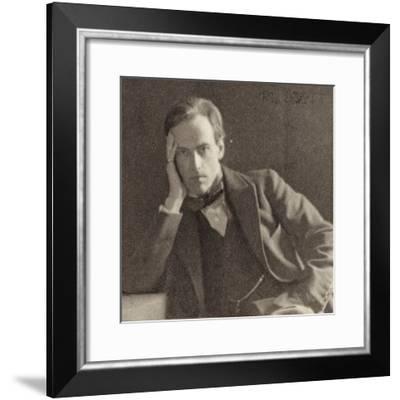 Portrait of Cyril Scott--Framed Photographic Print