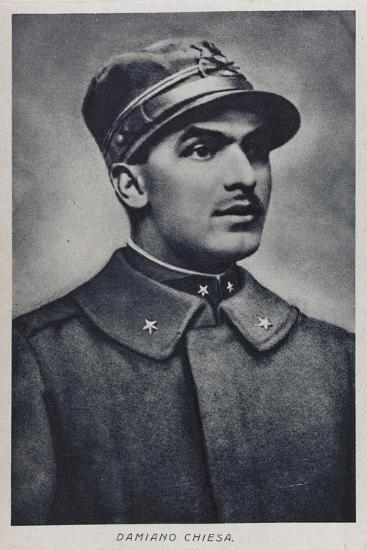 Portrait of Damiano Chiesa--Giclee Print