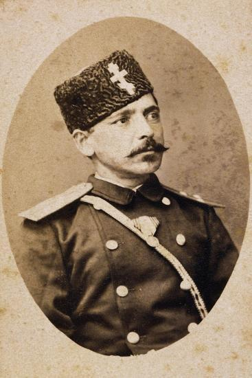 Portrait of Danail Nikolaev--Giclee Print