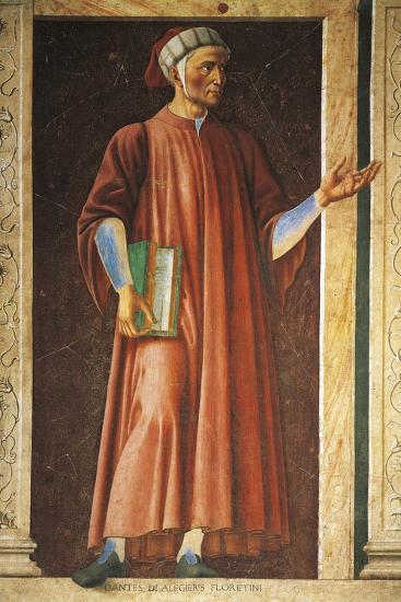 Portrait of Dante Alighieri--Giclee Print