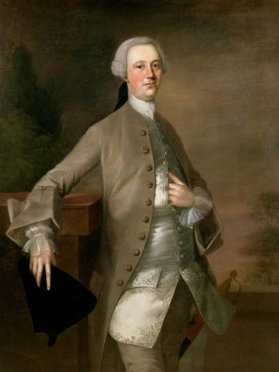 Portrait of David Garrick, 1742-Thomas Gainsborough-Giclee Print