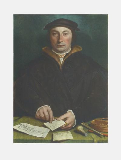Portrait of Dirck Tybis-Hans Holbein the Younger-Collectable Print