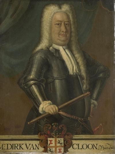 Portrait of Dirk Van Cloon, Governor-General of the Dutch East Indies-Hendrik van den Bosch-Art Print