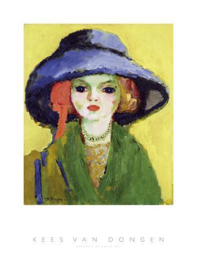 Portrait of Dolly, 1911-Kees van Dongen-Art Print
