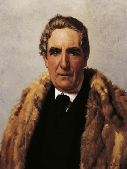 Portrait of Domenico Guerrazzi--Giclee Print